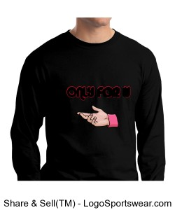Hanes Beefy Long Sleeve T-Shirt Mens Save Design Zoom